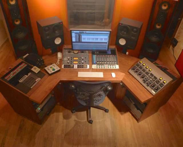 Studio A Above Desk